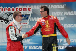 Dan Wheldon and Bryan Herta