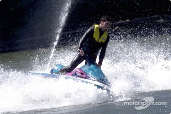 Columbia River Gorge: Patrick Carpentier on a jetski