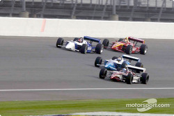 Alex Zanardi, Patrick Carpentier, Bryan Herta and Memo Gidley