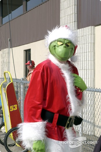Even the Grinch was at Michigan