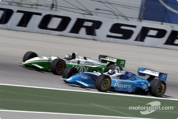 Patrick Carpentier and Paul Tracy