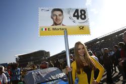 Gridgirl von Edoardo Mortara, Audi Sport Team Abt Sportsline, Audi RS 5 DTM