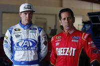 NASCAR Sprint Cup Fotos - Trevor Bayne, Roush Fenway Racing Ford, Greg Biffle, Roush Fenway Racing Ford