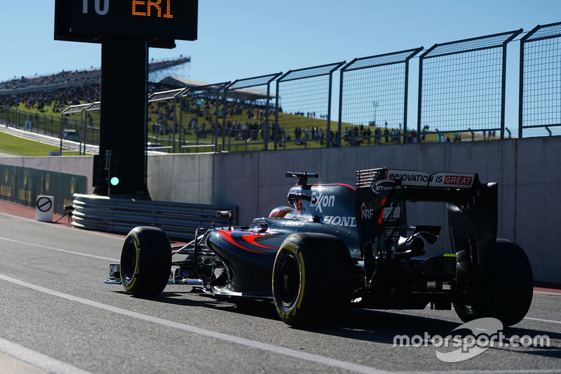 12. Fernando Alonso, McLaren MP4-31