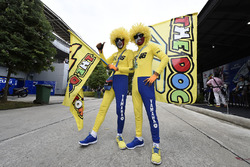 Fans von Valentino Rossi, Yamaha Factory Racing