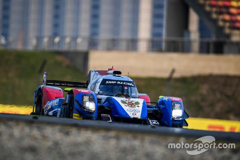 8. LMP2: #37 SMP Racing, BR01 Nissan: Vitaly Petrov, Viktor Shaytar, Kirill Ladygin