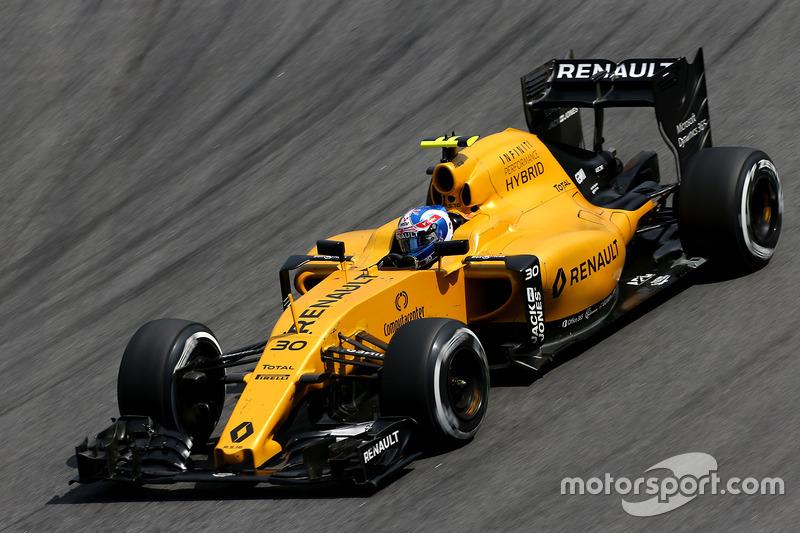 16. Jolyon Palmer, Renault Sport F1 Team