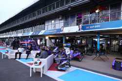DS Virgirn round table with Jose Maria Lopez, DS Virgin Racing and Alejandro Agag, Formula E CEO