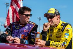 Denny Hamlin, Joe Gibbs Racing, Toyota; Matt Kenseth, Joe Gibbs Racing, Toyota