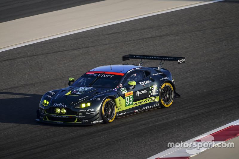 2. LMGTE-Pro: #95 Aston Martin Racing, Aston Martin Vantage GTE: Marco Sorensen, Nicki Thiim