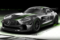 GT Foto's - Mercedes-AMG GT4