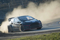 World Rallycross Fotoğraflar - Alexander Wurz, World RX Team Austria Ford Fiesta'yı test ediyor