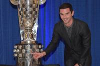 IndyCar Fotos - Presentación Alexander Rossi Trofeo Borg Warner