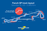 Fórmula 1 Fotos - French GP track layout