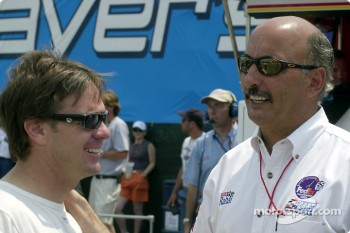 Jimmy Vasser and Bobby Rahal