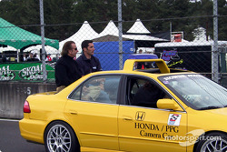 Emerson Fittipaldi and Max Papis