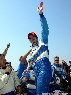 Race winner Patrick Carpentier