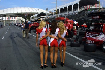 Molson Indy girls
