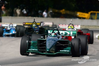 Paul Tracy leading the field