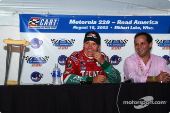 Mexican drivers press conference: Adrian Fernandez and Hector Rebaque