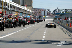 End of qualifying session