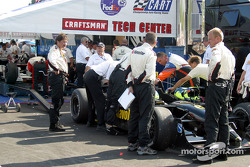 Technical inspection after the race