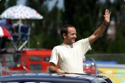 Drivers' parade: Cristiano da Matta