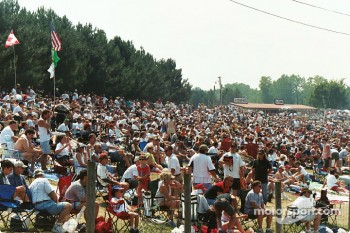 Good crowd at Mid-Ohio