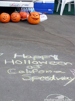 Celebrating Haloween at Fontana