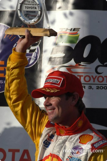 Race winner Jimmy Vasser