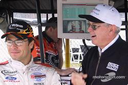 Oriol Servia and Jim McGee