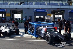 Champ cars arrive at EuroSpeedway Lausitzring