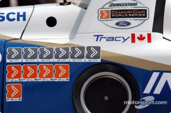 Paul Tracy's laurels in 2003