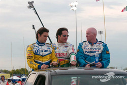 Drivers presentation: Rodolfo Lavin, Mario Dominguez and Paul Tracy