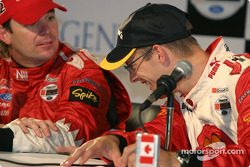 Press conference: Jimmy Vasser and Sébastien Bourdais share a laugh