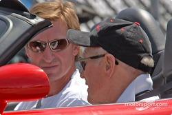 Paul Newman and Wayne Gretzky