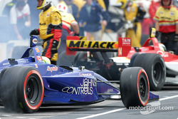 Alex Tagliani takes off