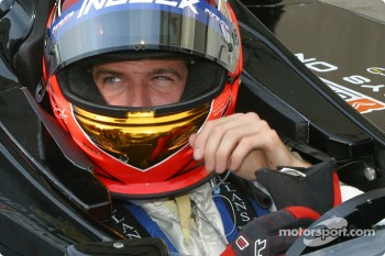 Champ Car 2-seater experience: Patrick Carpentier all set