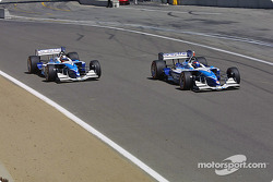 Start: Paul Tracy and Patrick Carpentier