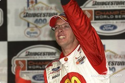 Sébastien Bourdais celebrates his victory