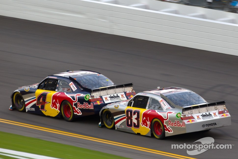 Kasey Kahne, Red Bull Racing Team Toyota, Brian Vickers, Red Bull Racing Team Toyota
