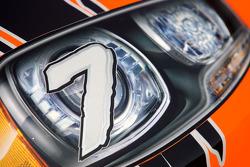 Car detail, Robby Gordon, Robby Gordon Motorsport Dodge