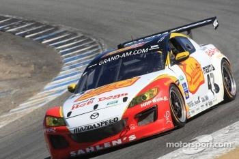#43 Joe Nonnamaker, Wayne Nonnamaker, Will Nonnamaker Theracesite.com Mazda RX-8, Team Sahlen