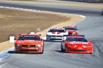 Rolex GT cars battle