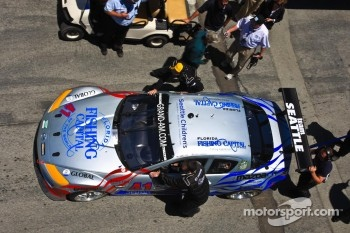 #41 Dane Cameron, James Gue: Seattle Childrens Hospital Mazda RX-8, Dempsey Racing