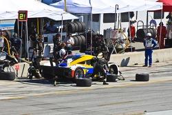 #2 Ryan Dalziel, Mike Forest, Alex Popow: Avior Airusas Porsche Riley, Starworks Motorsport