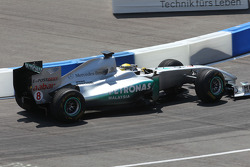 Nico Rosberg in his Mercedes GP