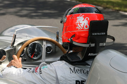 Michael Schumacher, Mercedes GP drives a Mercedes W196s