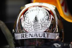 Sebastian Vettel, Red Bull Racing in special German Grand Prix helmet
