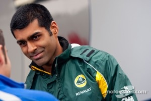 Karun Chandhok, Team Lotus Renault T128